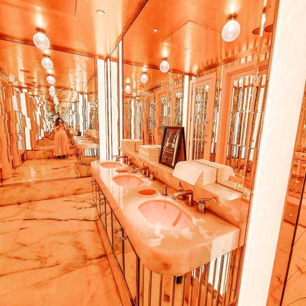 Instagrammable Bathroom Venue